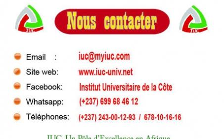 Communiqué : MERITE A L'IUC