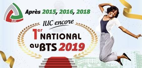 IUC encore 1er national au BTS 2019