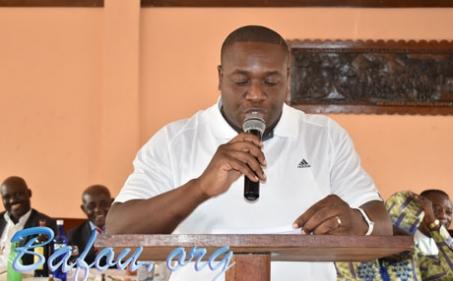Sob DONGHO DONGMO Thierry nouveau Président de l'ASB de Douala