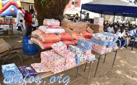 Festi-Noël : L'ASB de Douala au secours des enfants démunis et déshérités