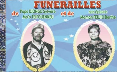 Funérailles de Papa DJONGO Sylvère Mo'o Teifouenkeu et de son épouse Maman FEUJIO Berthe