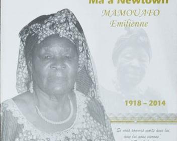 In Memoriam : Ma'a Newtown MAMOUAFO Emilenne