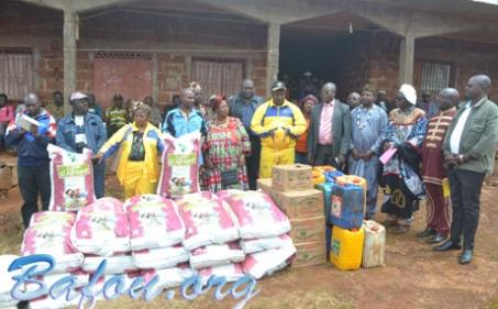 L'ARESBAD et les familles Ndziih de Yaoundé et de Douala volent au secours des populations Mezet et de ses environs.