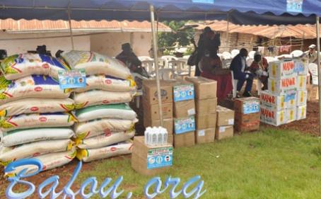 Mo'oh Nkem Tsopze KEMGUEAGNI Jean Bosco, avec le concours des forces vives de son quartier, renforce la lutte contre la COVID 19