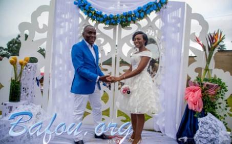 Alphone Djine épouse la princesse Vanessa Nguepi.