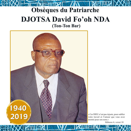 DJOTSA David Fo'oh Nda (Tont-Ton Bar)
